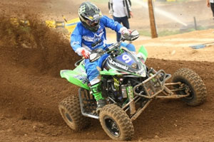 Chad Wienen picked up his first victory for Kawasaki.