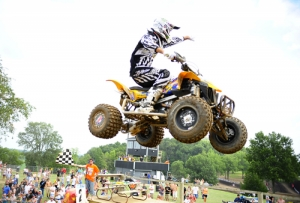 Chad Wienen dominated the field in Moto 2.