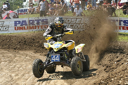 Suzuki's Chad Wienen has won two straight races to end the season.