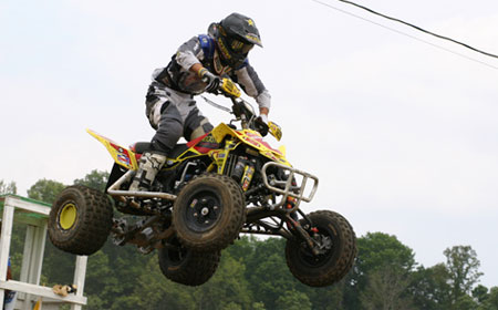 Suzuki's Dustin Wimmer is healthy again and looking to take over the championship points lead.