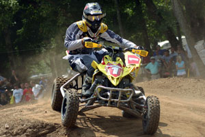 Dustin Wimmer earned his second straight AMA ATV Motocross championship.