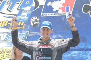 Dustin Wimmer clinched his first AMA No. 1 championship plate July 27.
