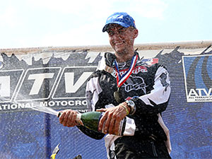 With his victory Wimmer now holds a commanding 67-point lead in the standings.