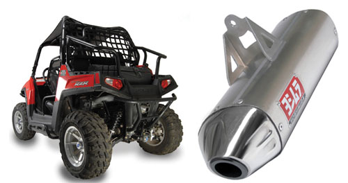You can add a little extra oomph to your RZR with Yoshimura's RS-8 exhaust.