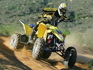 The 2009 QuadSport LT-Z400.