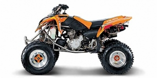 2005 Polaris Predator 500 Troy Lee Edition