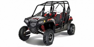 2012 Polaris Ranger® RZR® 4 800 EPS Robbie Gordon Edition Black / White / Red LE