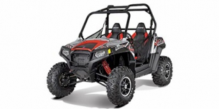2012 Polaris Ranger® RZR® S 800 Liquid Silver / Red LE