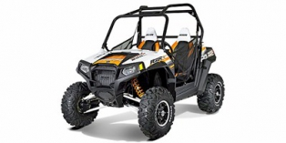 2012 Polaris Ranger® RZR® S 800 White / Orange Madness LE