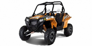 2012 Polaris Ranger® RZR® XP™ 900 Black / Orange Madness LE