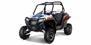 2012 Polaris Ranger® RZR® XP™ 900 Voodoo Blue / White / Black LE