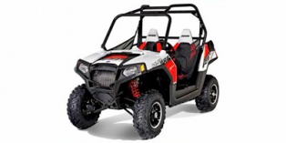 2012 Polaris Ranger® RZR® 800 Walker Evans White / Black / Red LE