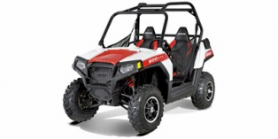 2012 Polaris Ranger® RZR® 800 White Lightning / Red LE