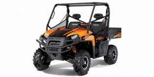 2012 Polaris Ranger® XP® 800 Black / Orange Madness LE