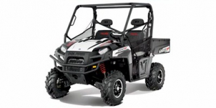 2012 Polaris Ranger® XP® 800 Black / White Lightning LE
