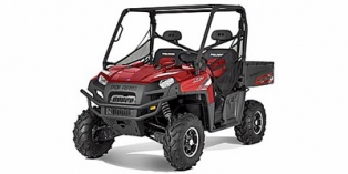 2012 Polaris Ranger® XP® 800 Sunset Red LE