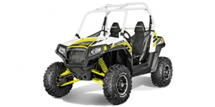 2014 Polaris RZR® S 800 EPS White Lightning LE