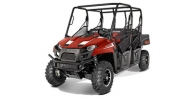 2014 Polaris Ranger® Crew® 570 Burgundy Metallic LE