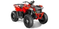 2014 Polaris Scrambler® XP® 850 HO Indy Red