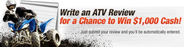 Write a review - Win $1000 Cash!